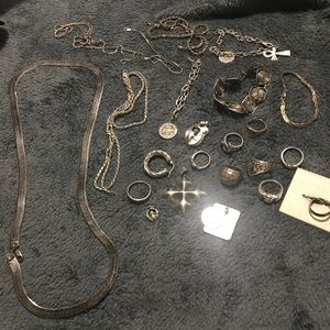 Jewelry - Sterling silver lot of 23 pieces